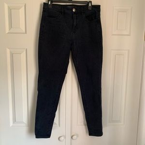 American Eagle Black High-Rise Jeggings Size 10